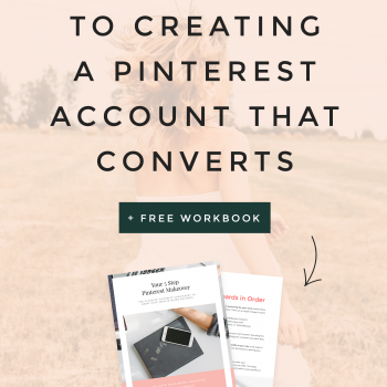 5 quick and easy tips for giving your Pinterest profile an overhaul which will lead to gaining more followers, driving more traffic to your site and turning your fellow pinners into subscribers and paying customers | Kate Wilkinson Creative