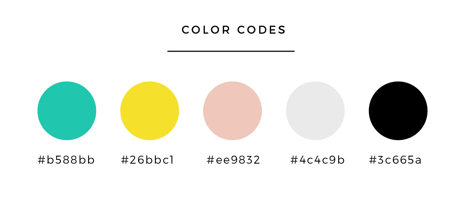 Branding Color Palette for Bloggers