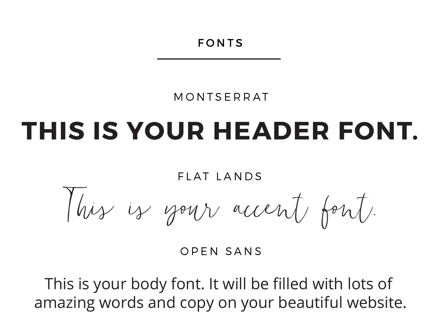 Font Pairings For Your Brand