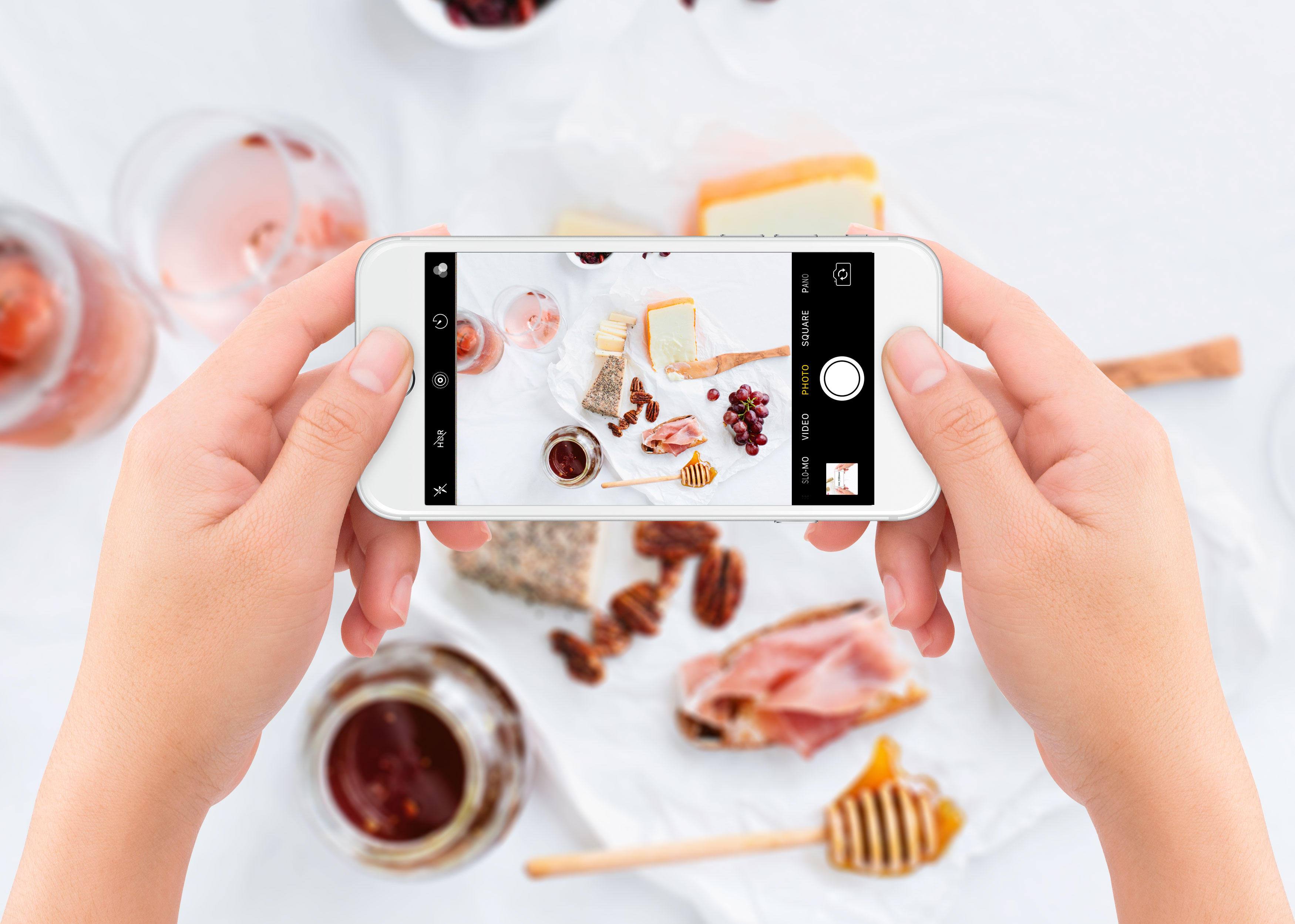 Video Tutorial: How to Create a Realistic iPhone Mockup of Food Photography