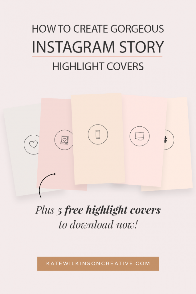 How to create Instagram Highlight Covers (plus 5 free templates!)