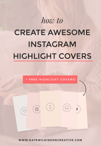 How to create eye-catching covers for your Instagram Highlights (+ 5 free covers you can download now!)