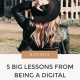 5 Lessons From Being a Digital Nomad | Have you ever dreamed of travelling the world with your laptop? Here's my 5 essential tips for making the journey seamless for you and for your clients.