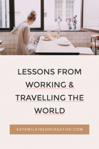 Lessons From Working & Travelling the World | One of the undeniable perks of being a solopreneur is the freedom to work from anywhere in the world. Here's how to make the process as smooth and stress-free as possible.