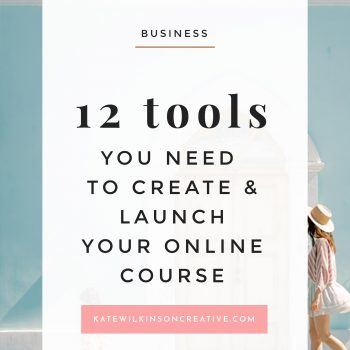 The Tools & Tech You Need to Create & Launch Your Online Course